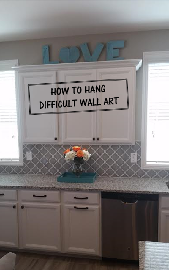 How To Hang Difficult Wall Art Cookie Cutter Charm